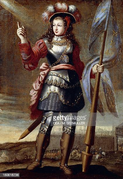 Joan of Arc painted by an unknown 17th century French artist