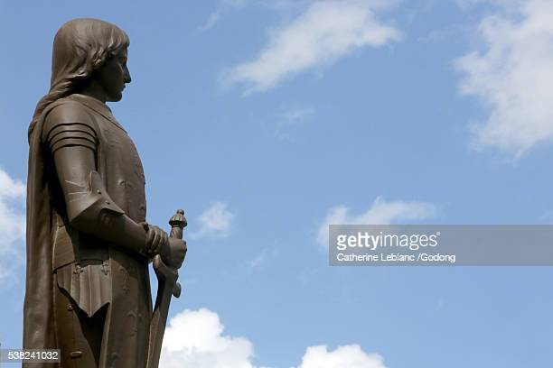 joan of arc. - sallanches stock pictures, royalty-free photos & images