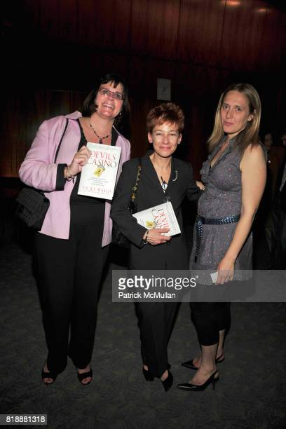 Joan O'Neil Pamela van Giessen and Galt Niederhoffer attend Book Release Party for VICKY WARD's New Book 'THE DEVIL'S CASINO' at Four Seasons...