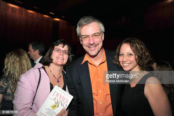 Joan O'Neil Peter Knapp and Sarah Knapp attend Book Release Party for VICKY WARD's New Book 'THE DEVIL'S CASINO' at Four Seasons Restaurant on April...