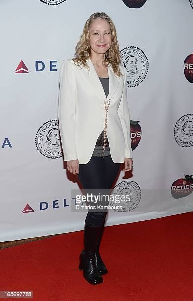 Joan Osborne attends The Friars Club Roast Honors Jack Black at New York Hilton and Towers on April 5 2013 in New York City