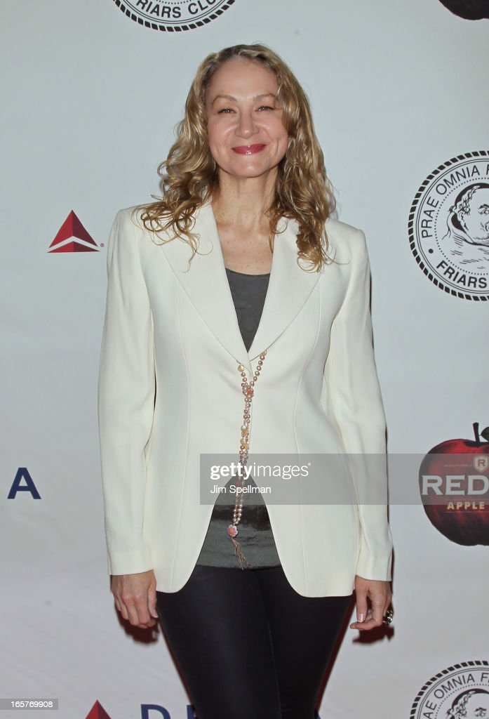 Joan Osborne attends The Friars Club Roast Honors Jack Black at New York Hilton and Towers on April 5, 2013 in New York City.