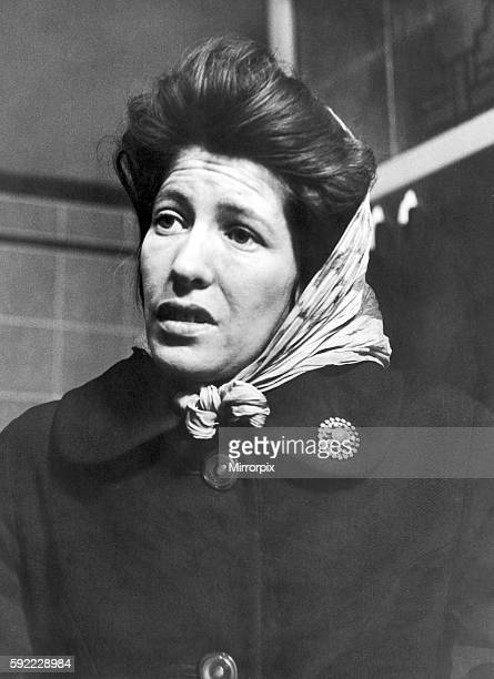 Joan Reade mother of missing girl Pauline Reade 18th October 1966 The remains of Pauline Reade were found on Saddleworth Moor near Oldham in the...