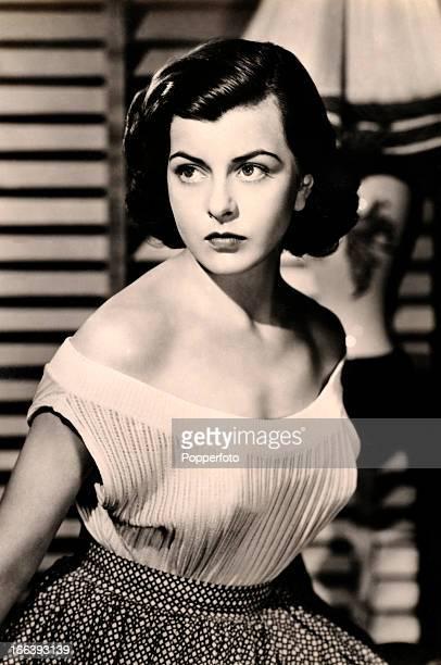 Joan Rice, British film actress, circa 1955.