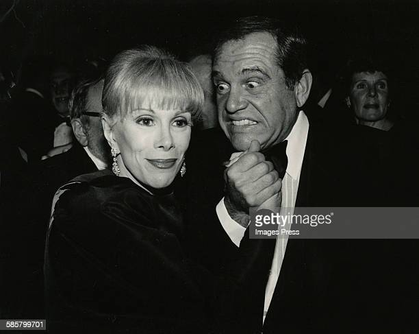 Joan Rivers and Alan King circa 1985 in New York City