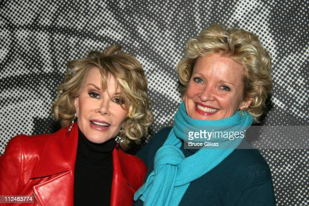 Joan Rivers and Christine Ebersole during Opening Night Party for the OffBroadway Musical Altar Boyz at Dodger Stages then Crobar in New York City...