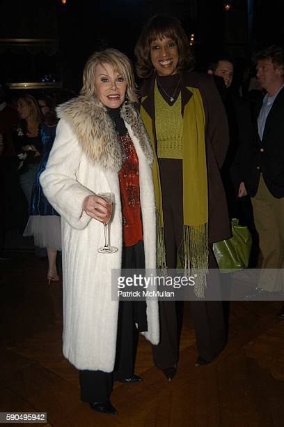Joan Rivers and Gayle King attend Preston Bailey Event Designer for the Wedding of Donald Trump and Melania Knauss Celebrates the Publication of his...