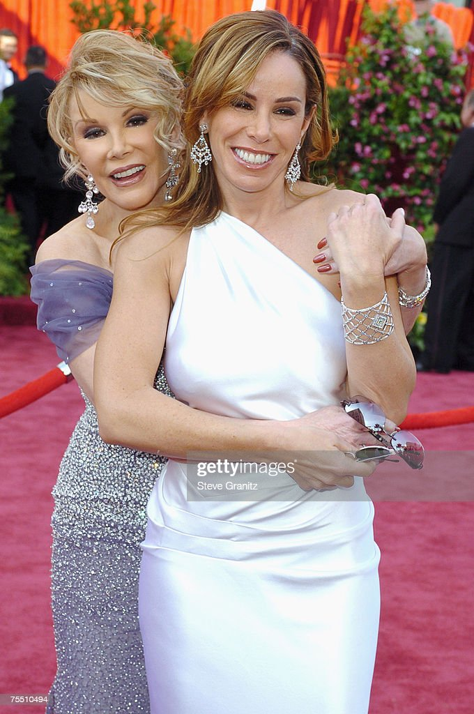Joan Rivers and Melissa Rivers at the Kodak Theatre in Hollywood, California