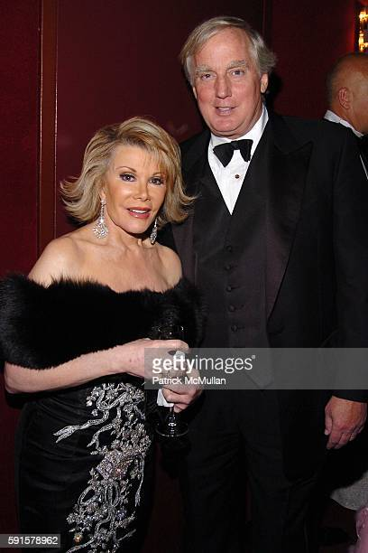 Joan Rivers and Robert Trump attend American Ballet Theatre 65th Anniversary Spring Gala at Metropolitan Opera House on May 23 2005 in New York City