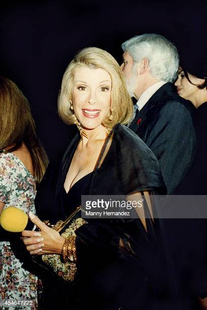 Joan Rivers attends 'Boathouse Rocks 2' AMFAR Benefit in Central Park on June 22 1993 in New York City