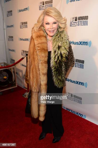 Joan Rivers attends Howard Stern's Birthday Bash presented by SiriusXM produced by Howard Stern Productions at Hammerstein Ballroom on January 31...