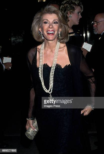 Joan Rivers attends the 1992 Metropolitan Museum of Art's Costume Institute Gala circa 1992 in New York City