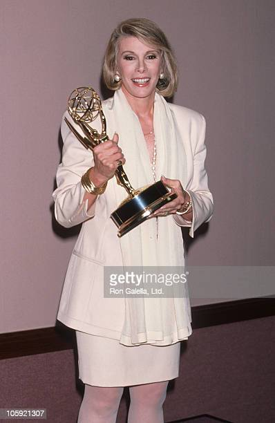 Joan Rivers during 17th Annual Daytime Emmy Awards at Marriott Marquis Hotel in New York City New York United States