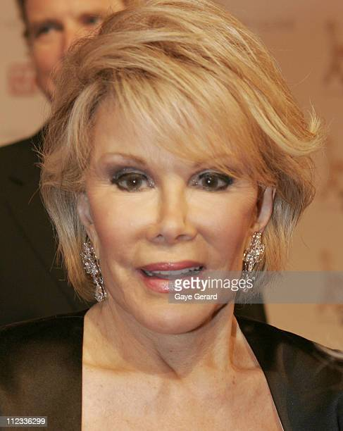Joan Rivers during 2006 TV Week Logie Awards Arrivals at Crown Casino in Melbourne VIC Australia