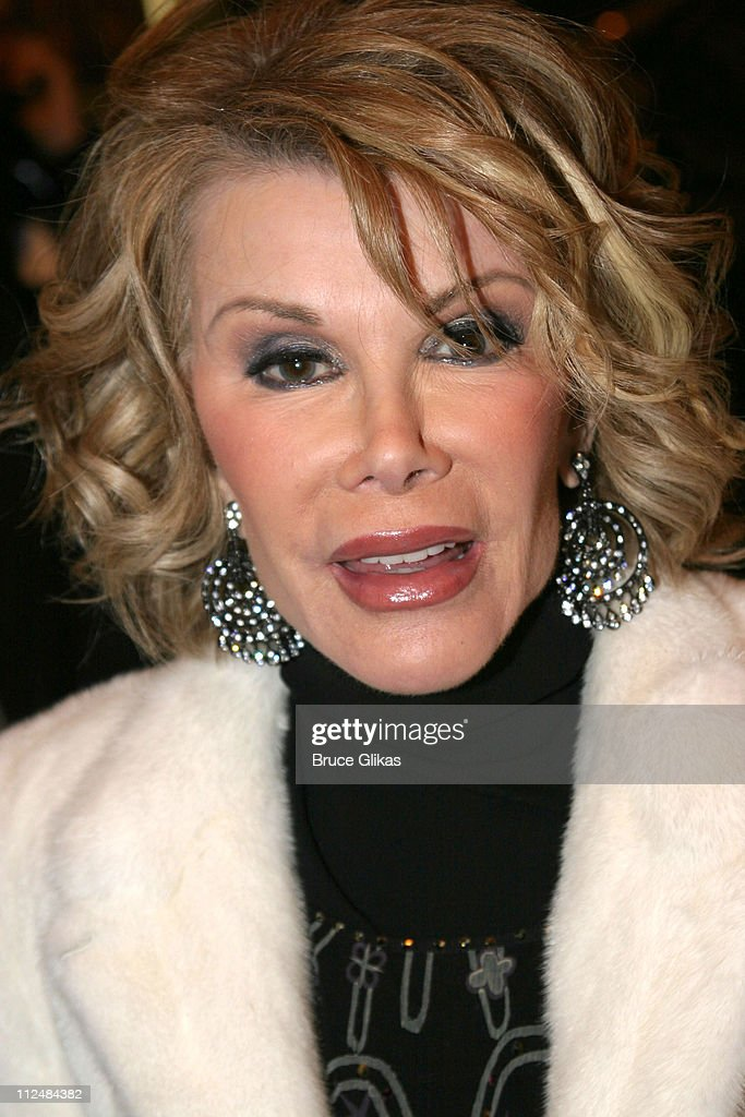 Joan Rivers during 'Dirty Rotten Scoundrels' Broadway Opening Night at The Imperial Theater in New York City, New York, United States.