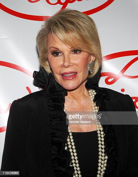 Joan Rivers during Le Cirque Opening Party at One Beacon Court at One Beacon Court in New York City New York United States