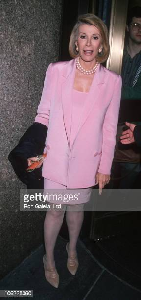 Joan Rivers during 'Live at Five' May 17 1994 at NBC Studios in New York City New York United States