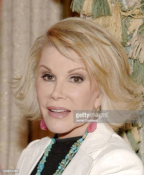 Joan Rivers during The American Heart Association's Sixth Annual Women With Heart Lunch at Pierre Hotel in New York City New York United States