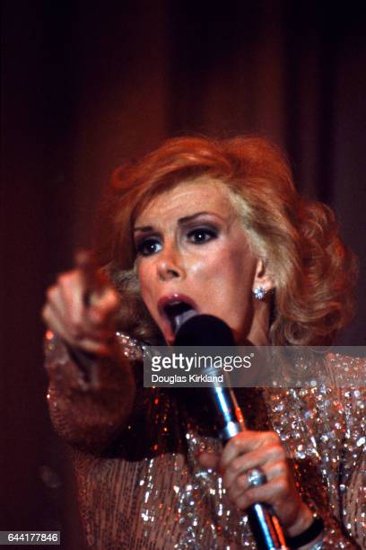 Joan Rivers photographed in Hollywood 1983
