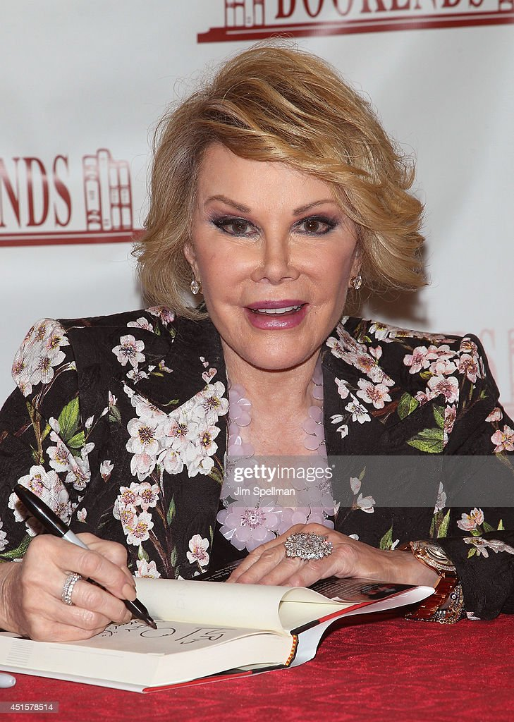 Joan Rivers Signs Copies Of