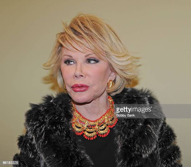 Joan Rivers signs copies of 'Murder At The Academy Awards' and 'Men Are Stupid And They Like Big Boobs A Woman's Guide To Beauty Through Plastic...