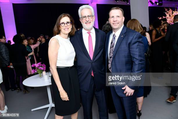 Joan Rosen Seth Rosen and Vince Russell attend Planned Parenthood Of New York City Spring Gala Honoring Cecile Richards And Laverne Cox at Spring...