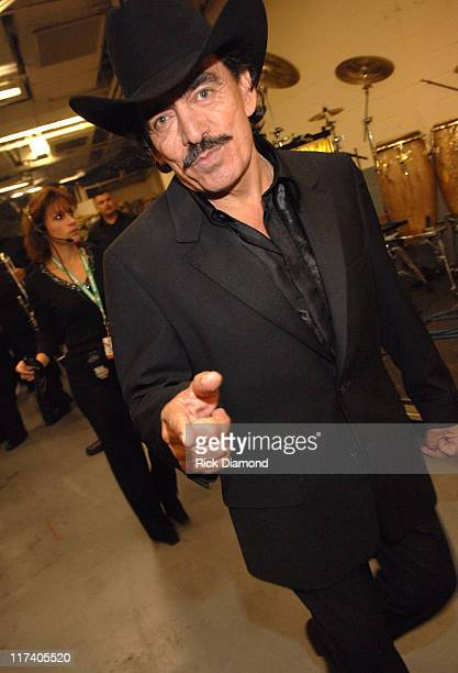 Joan Sebastian during The 7th Annual Latin GRAMMY Awards Backstage and Audience at Madison Square Garden in New York City New York United States