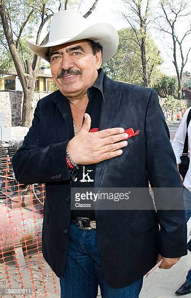Joan Sebastian during the assembly of composers in the SACM on December 07 2011 in Mexico City Mexico