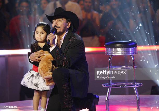 Joan Sebastian during Univision Presents Nuestra Navidad Show at Greenwich Studios in Miami FL United States