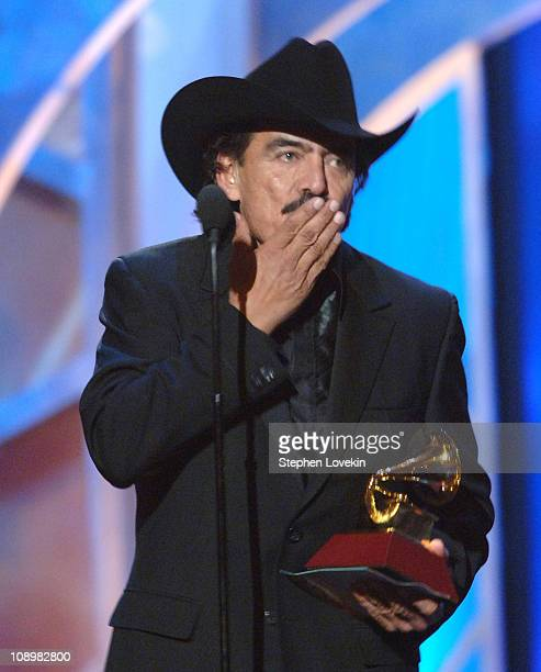 Joan Sebastian winner Best Banda Album for Más Allá Del Sol