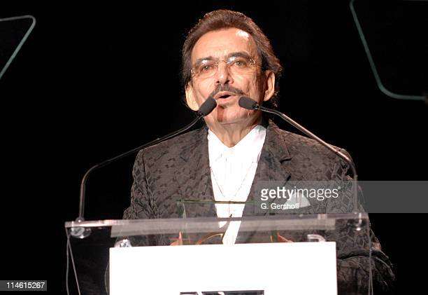 Joan Sebastian winner of ASCAP Golden Note Award during 15th Annual ASCAP Latin Music Awards Show at Nokia Theatre in New York City New York United...