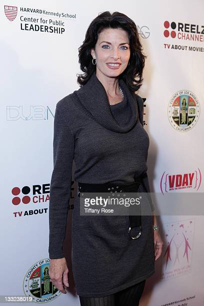Joan Severance attends A New Way Of Life Charity Gala Catching Falling Stars at Sheraton Hotel on November 17 2011 in Universal City California