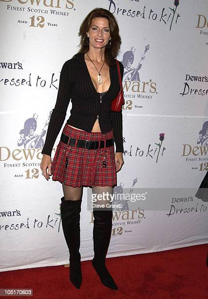 Joan Severance during Celebrities Bare Legs For Dewar's Dressed To Kilt Charity Event Arrivals at Wiltern Theatre in Los Angeles California United...