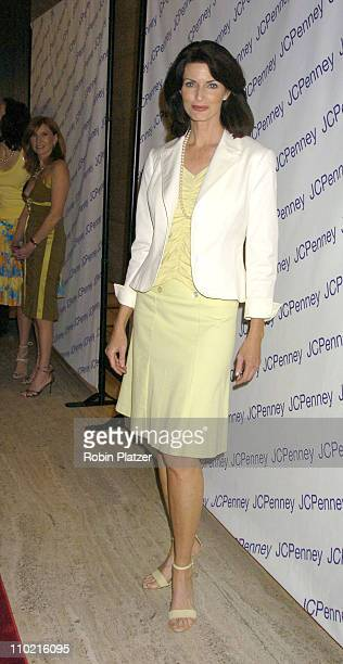 Joan Severance during Nicole by Nicole Miller Fashion Show Presented by JCPenney Inside Arrivals and Runway at The Four Seasons Restaurant in New...