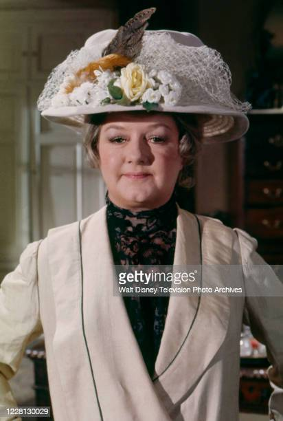 Joan Sims appearing in the period drama ABC tv movie 'Love Among the Ruins'.