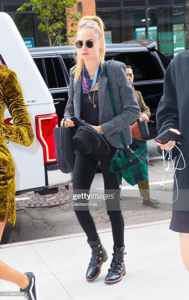 Celebrity Sightings In New York City - September 10, 2019 : News Photo
