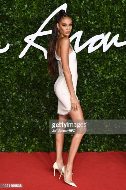 Joan Smalls arrives at The Fashion Awards 2019 held at Royal Albert Hall on December 02 2019 in London England