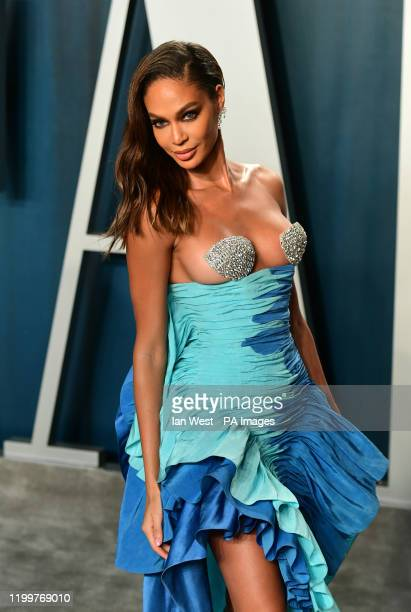 Joan Smalls attending the Vanity Fair Oscar Party held at the Wallis Annenberg Center for the Performing Arts in Beverly Hills Los Angeles California...