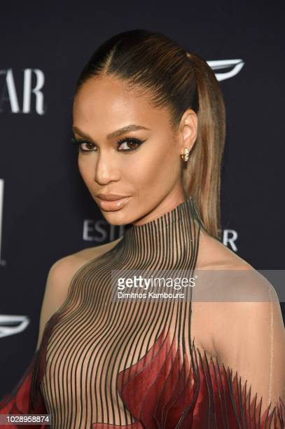 Joan Smalls attends as Harper's BAZAAR Celebrates ICONS By Carine Roitfeld at the Plaza Hotel on September 7 2018 in New York City
