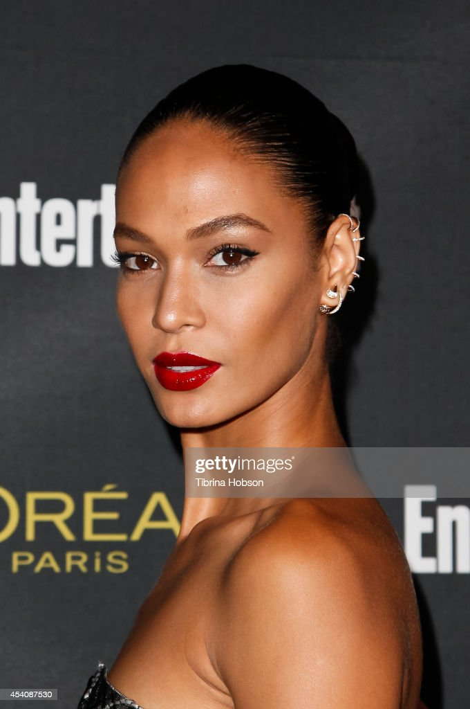 Joan Smalls attends Entertainment Weekly's Pre-Emmy party at Fig & Olive Melrose Place on August 23, 2014 in West Hollywood, California.