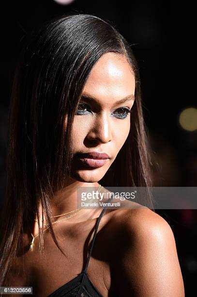 Joan Smalls attends Intimissimi On Ice at Arena on October 7 2016 in Verona Italy