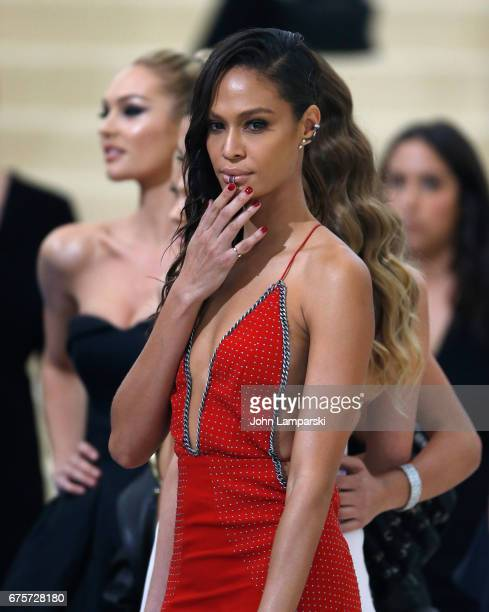 Joan Smalls attends 'Rei Kawakubo/Comme des Garcons Art Of The InBetween' Costume Institute Gala O at Metropolitan Museum of Art on May 1 2017 in New...