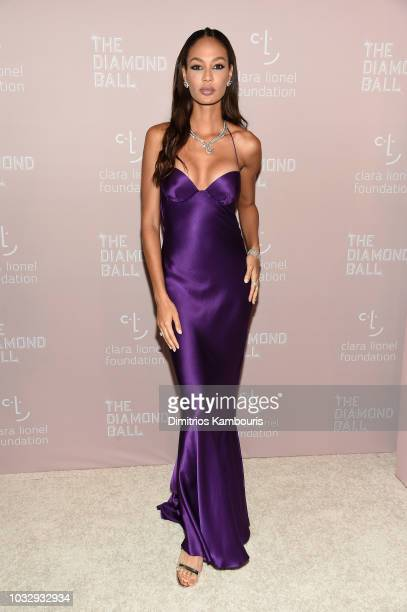 Joan Smalls attends Rihanna's 4th Annual Diamond Ball benefitting The Clara Lionel Foundation at Cipriani Wall Street on September 13, 2018 in New...