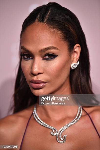 Joan Smalls attends Rihanna's 4th Annual Diamond Ball benefitting The Clara Lionel Foundation at Cipriani Wall Street on September 13 2018 in New...