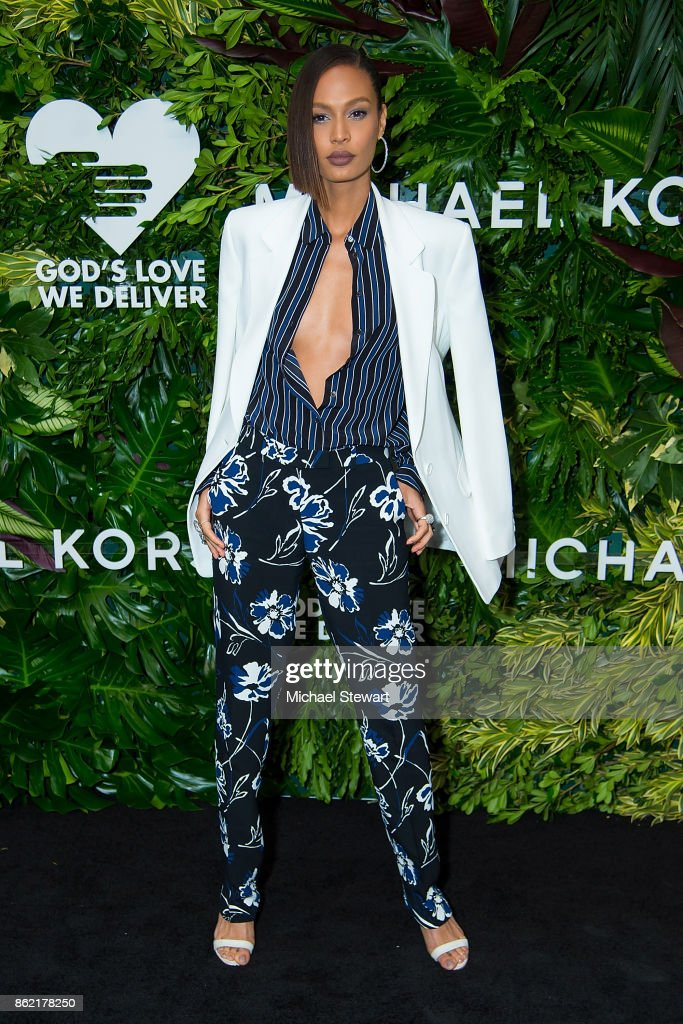 Joan Smalls attends the 11th Annual God's Love We Deliver Golden Heart Awards at Spring Studios on October 16, 2017 in New York City.