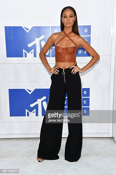 Joan Smalls attends the 2016 MTV Video Music Awards at Madison Square Garden on August 28 2016 in New York City