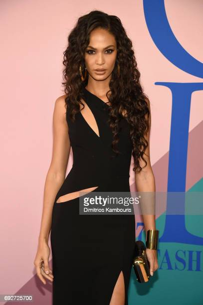 Joan Smalls attends the 2017 CFDA Fashion Awards at Hammerstein Ballroom on June 5, 2017 in New York City.