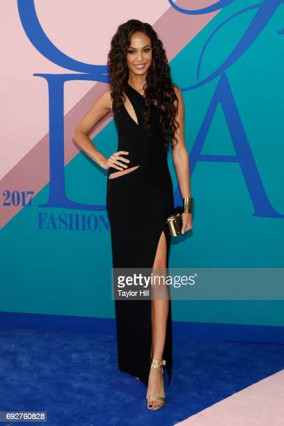 Joan Smalls attends the 2017 CFDA Fashion Awards at Hammerstein Ballroom on June 5 2017 in New York City