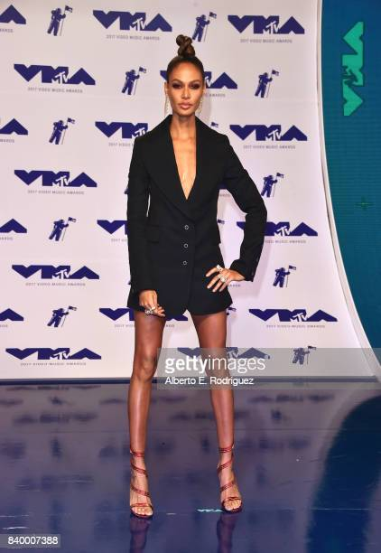 Joan Smalls attends the 2017 MTV Video Music Awards at The Forum on August 27 2017 in Inglewood California