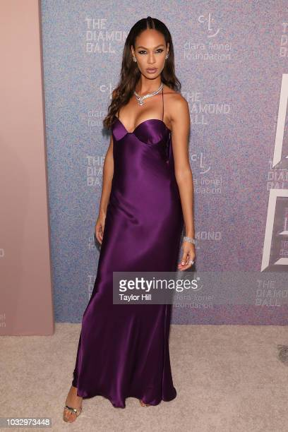Joan Smalls attends the 2018 Diamond Ball at Cipriani Wall Street on September 13 2018 in New York City